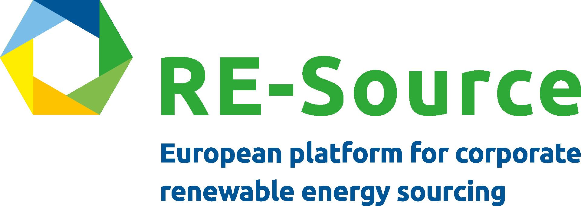 RE-Source logo